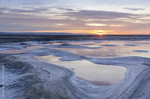 Alviso Salt Marshlands Tapéta, Fotótapéta