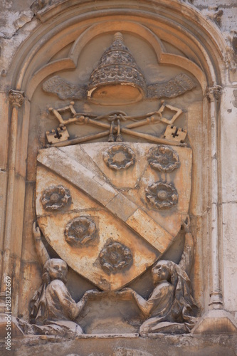 les symboles de la papauté Tapéta, Fotótapéta