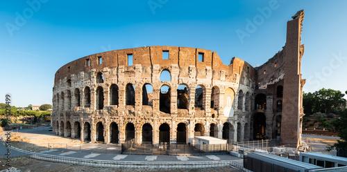 Fotografia, Obraz  Panorama Of Colosseum At Sunrise In Rome, Italy