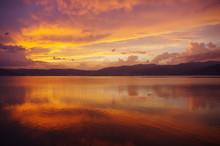 黄昏 湖 光の芸術 K3BP2695