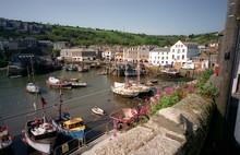 Mevagissey Habor, Cornwall, En...