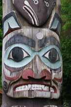 Native Totem Face