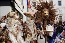 Masken, Carneval, Carnevale, Karneval In Venedig, Venetien, Italien, Europa