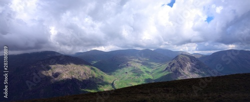 Photo  Dark clouds over Wasdale and Wast Water