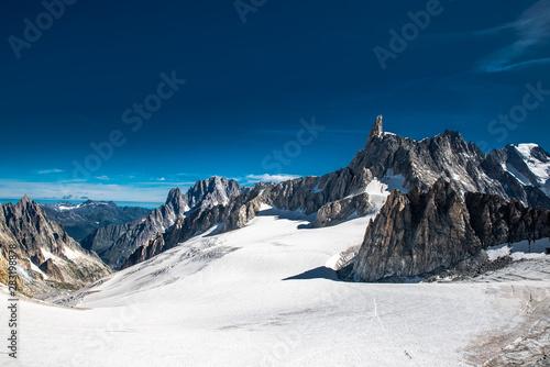 Obraz na plátně  Punta Helbronner Monte Bianco