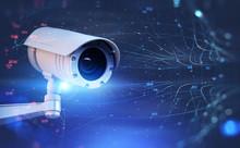 Surveillance Street Camera And...