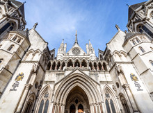 Facade Of Royal Courts Of Just...
