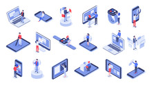 Isometric User Interface. Onli...