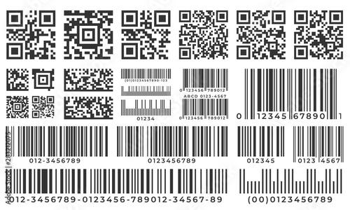 Barcodes Canvas-taulu