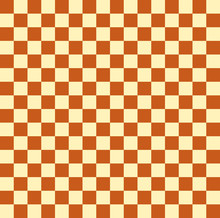 Checkered Background. Vector Drawing