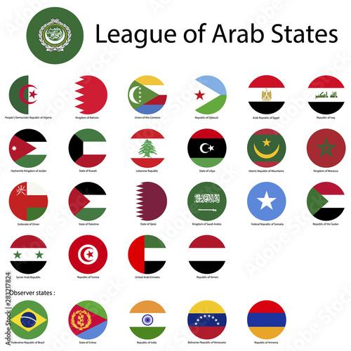 Canvastavla  League of Arab States