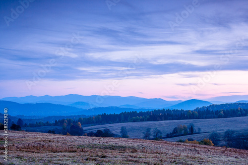 Fototapeta Bajkowe góry obraz