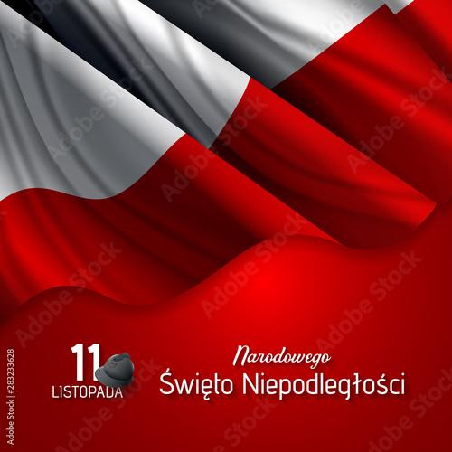 Poland Independence Day (Dzień Niepodległości). - fototapety na wymiar