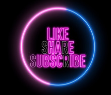 """Text Of """"LIKE, SHARE, SUBSCRIB..."""