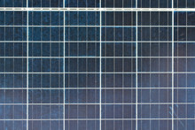 Texture Of Solar Panels Close ...