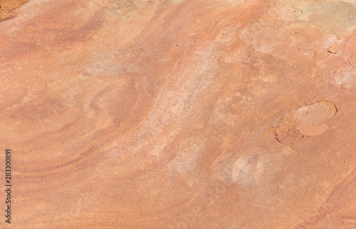 Red sandstone rock background, texture. Arizona USA Canvas Print