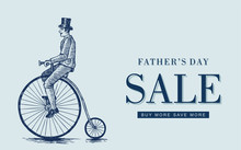 Father's Day Sale, Sketch Of...