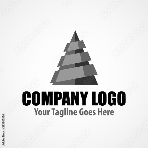 Obraz Modern logo template for drilling company - fototapety do salonu