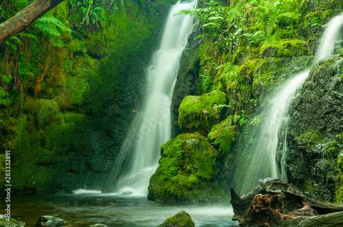 Foto auf Leinwand Wasserfalle Venford Falls, near Dartmoor, Devon