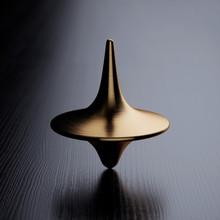 Spinning Golden Top