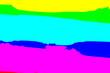 Leinwandbild Motiv Bright sky and cloud colorful pink and blue pastel tone color.