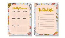 To-Do List And Weekly Planner ...