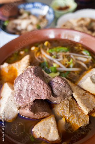 Taiwanese snacks of spicy pork blood hot pot - Buy this