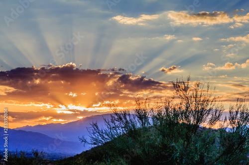 Photo  Sunrise Over Rincons