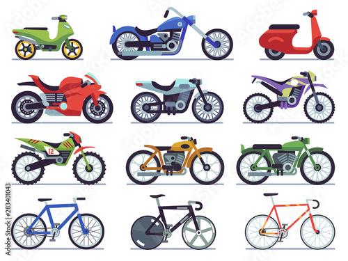 Photo Motorcycle set