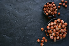 Peeled And Unpeeled Hazelnuts ...
