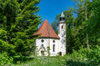 canvas print picture - Maria-Elend-Kirche in Dietramszell