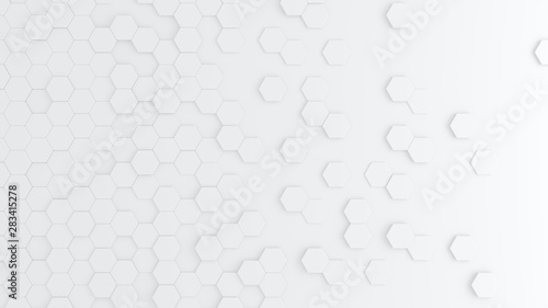 Stickers pour porte Pain Bright hexagon wallpaper or background