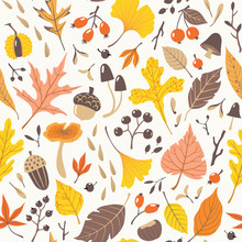 Seamless Pattern Of Colorful A...