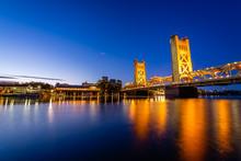 Sunrise Over West Sacramento