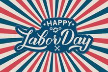Happy Labor Day Calligraphy Le...