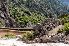 Glenwood Springs Canyon On Hig...