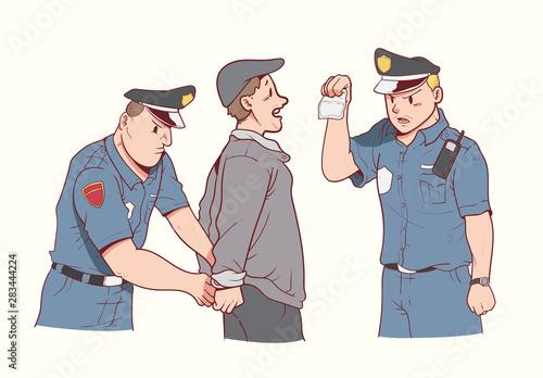 Foto Man arrested for drugs