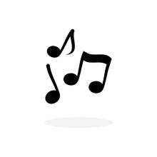 Note Music Vector Illustration