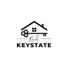 Key Logo Design Template Vector Isolated Illustration