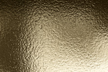 Metal Rippled Background. Abstract Metal Foil Texture. 3d Illustration