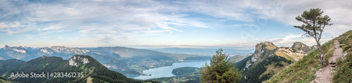 Fotografia  Panorama du lac d'Annecy