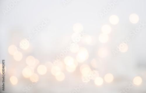 Fototapety, obrazy: Defocused Christmas Lights Background