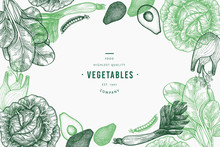 Green Vegetables Design Templa...