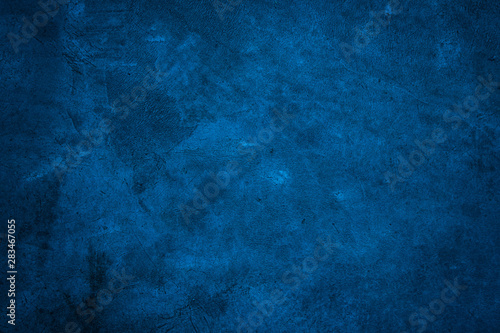 Beautiful Abstract background Grunge Decorative Navy Blue background Fototapet