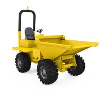 Mini Dumper Truck Isolated