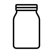 Mason Jar Glass Container Line...