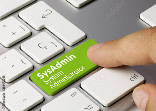 Photo SysAdmin System Administrator