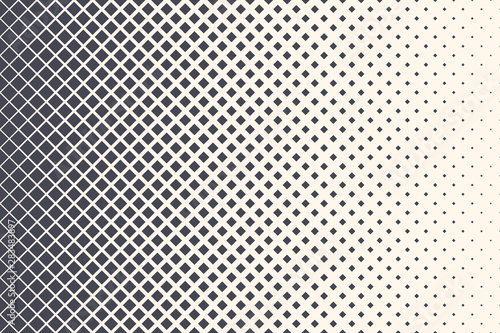 Fotografía  Rhomboid Halftone Retro 80s Simple Rectangular Pattern