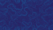 Leinwanddruck Bild - Blue Abstract Topographic Contour Map Background. Ultra High Quality Wallpaper