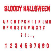 Bloody Halloween, Alphabet